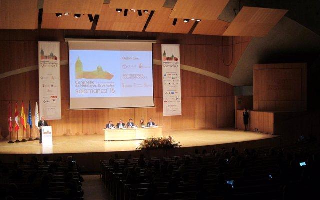 Evento en el Palacio de Congresos de Salamanca