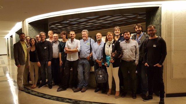 Diputados y eurodiputados de Equo