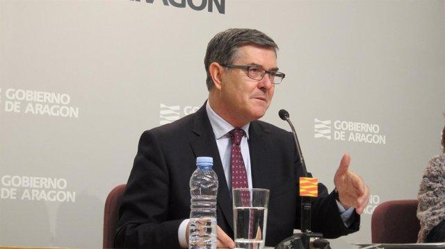 Consejero de Presidencia del Gobierno de Aragón, Vicente Guillén