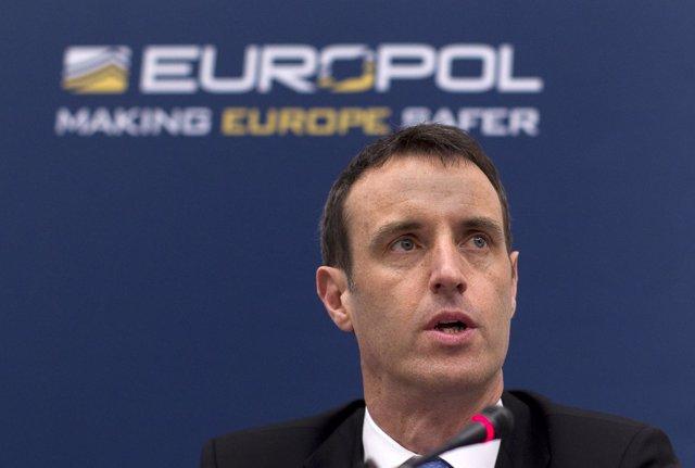 El director de Europol, Rob Wainwright, en una comparecencia
