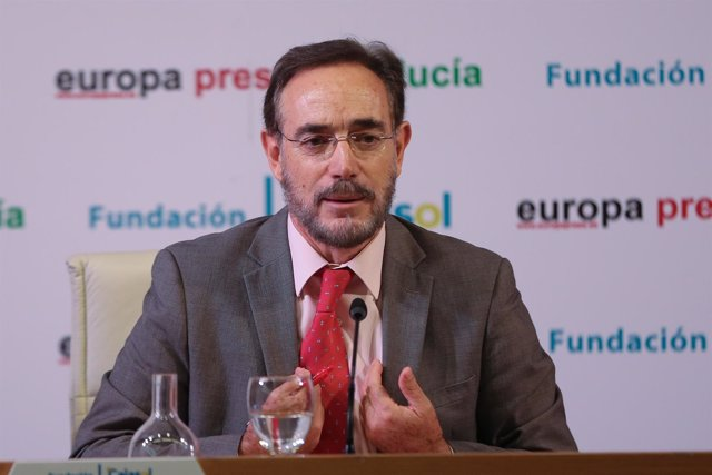 Felipe López, en los desayunos informativos de Europa Press Andalucía.