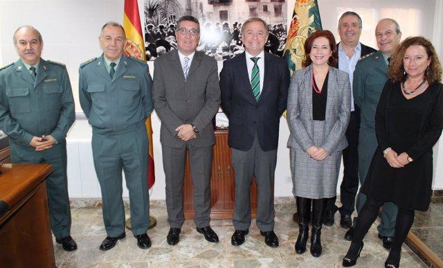 El Gobienro garantizará con 219 guardias civiles la seguridad en juzgados