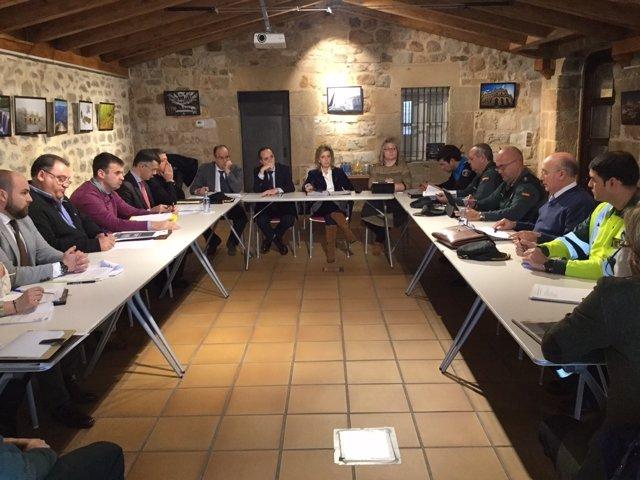 Reunión de seguimiento del Plan Invernal