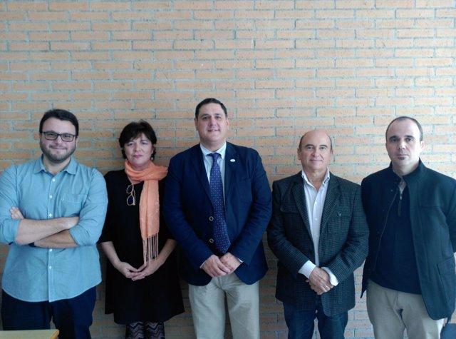 Francisco Alonso, director del IEA, ha representado a Diputación en el coloquio.