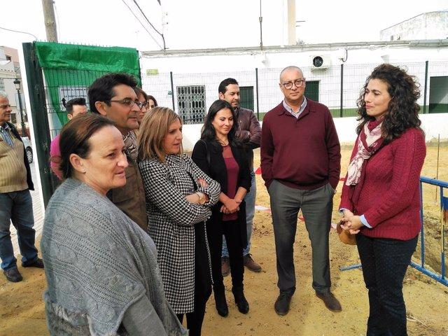 Irene García en Puerto Serrano
