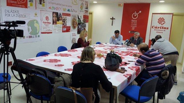 Cáritas presenta la campaña de Navidad