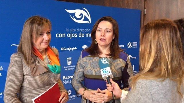 La concejala María del Mar Martín Rojo en el acto.