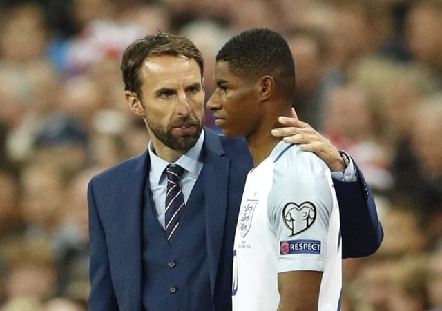 Gareth Southgate debuta como seleccionador inglés