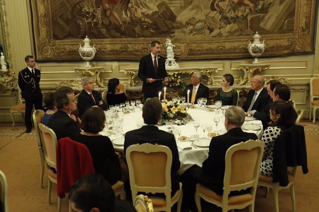 Discurso del Rey Felipe en Lisboa en una cena ofrecida por Antonio Costa
