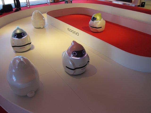 Evento Nissan Futures en la planta de Nissan en Barcelona