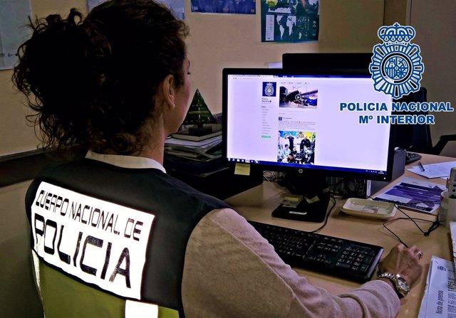 Detenidos por vender droga en Jerez gracias al Facebook de la Policía