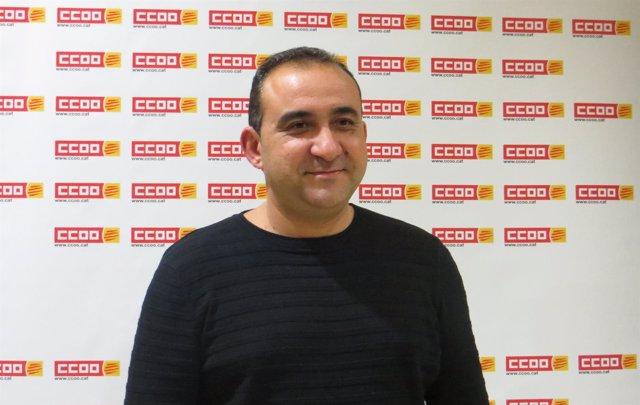 Javier Pacheco, secretario general Federación Industria CC.OO. Catalunya