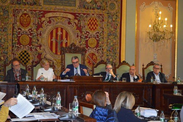 Pleno del Ayuntamiento de Lleida de noviembre