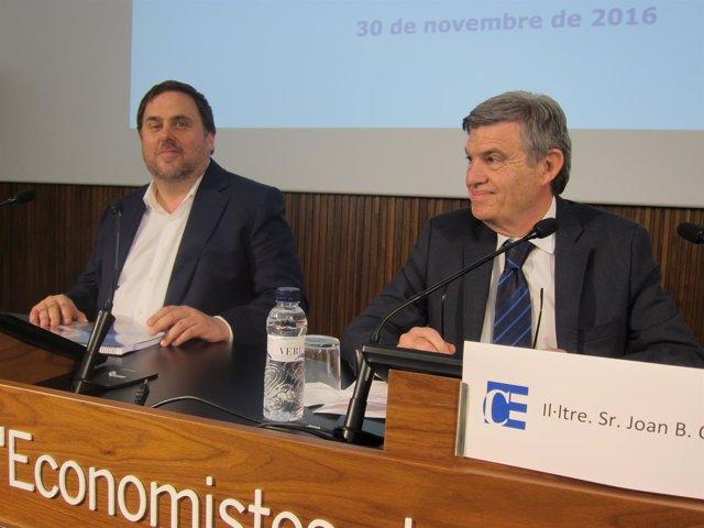 O.Junqueras y J.B.Casas