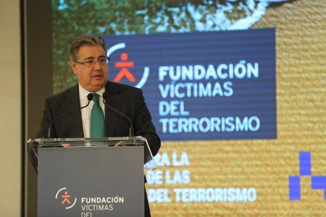 """Juan Ignacio Zoido, la jornada """"Las víctimas de ETA en el cine y la literatura"""""""