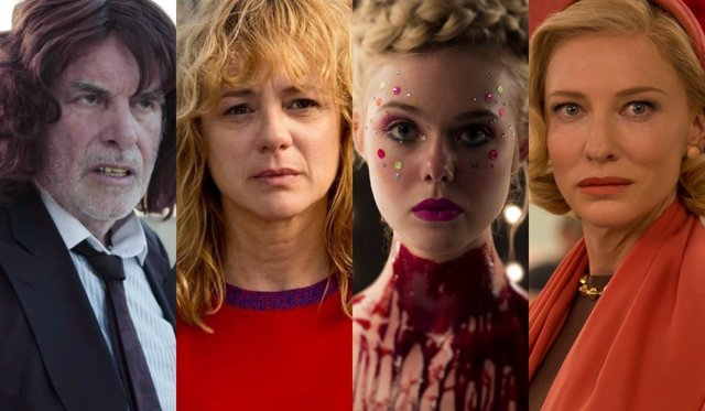 Toni Erdman, Julieta, The Neon Demon, Carol