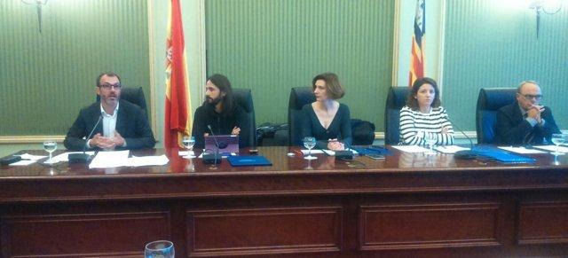 Comparecencia Barceló en el Parlament