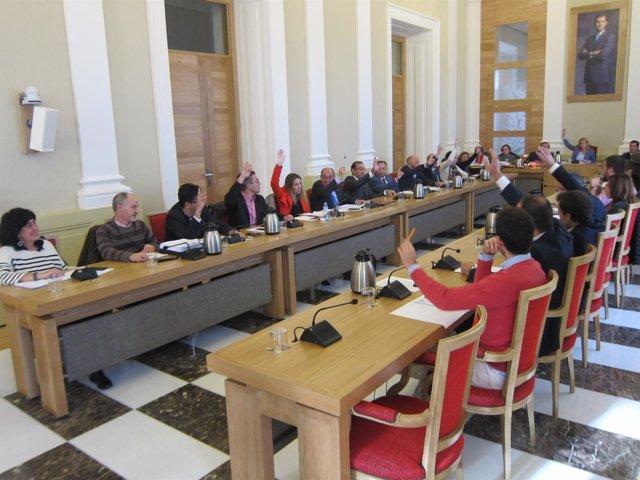 Pleno del Ayuntamiento de Cáceres