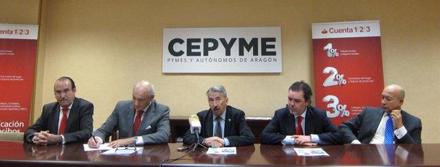 Aurelio López de Hita ha presentado los I Premios CEPYME Aragón
