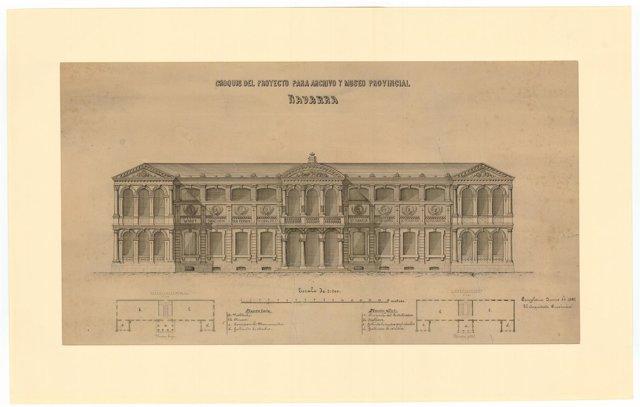 Proyecto de Museo y Archivo Provincial.