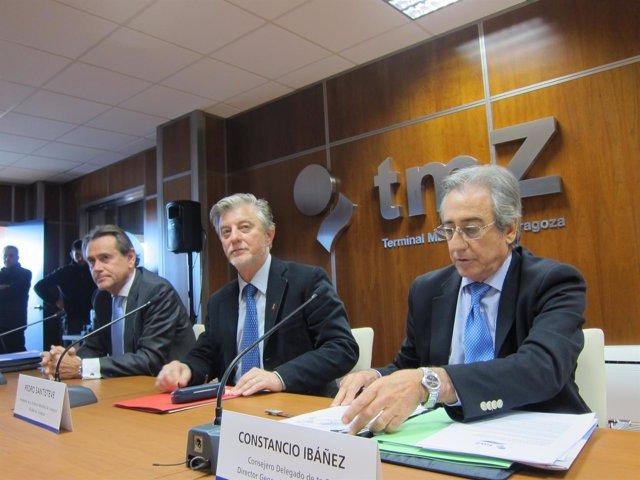 Santisteve, Ibáñez y Xiste Cambra en ampliación TMZ
