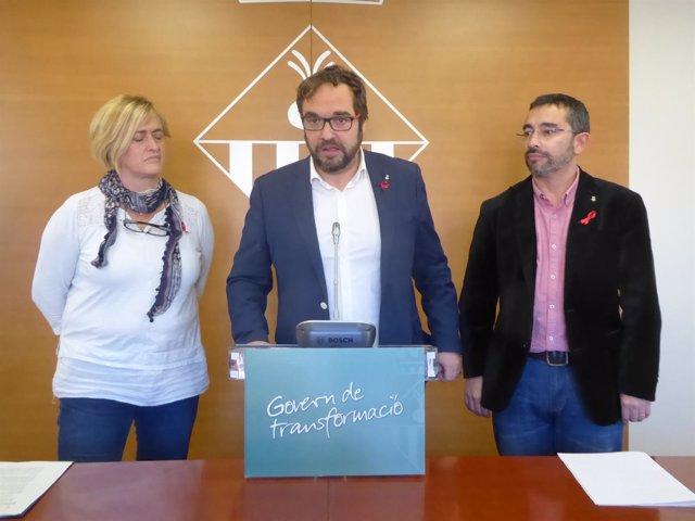 El alcalde de Sabadell, Juli Fernàndez