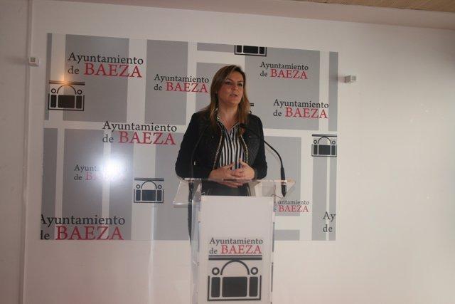 Alcaldesa de Baeza, Dolores Marín