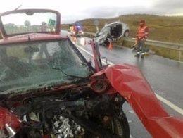 El accidente ocurrió el jueves, 17 de noviembre, en la A -12.