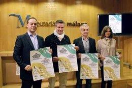 González, Guerrero, Domínguez y Lago en el acto.