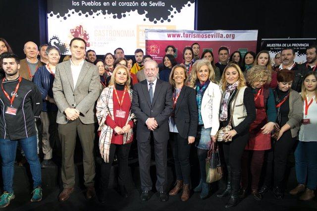 N.P Inaugurada La Feria De La Gastronomia En El Patio De La Diputación
