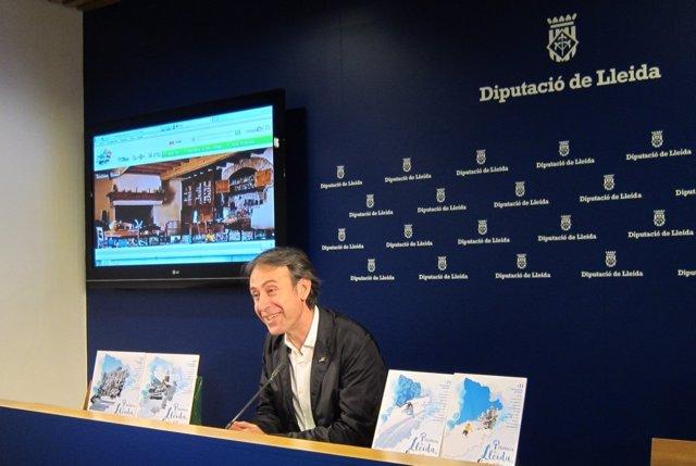 El director del Patronato de Turismo de la Diputación de Lleida, Juli Alegre