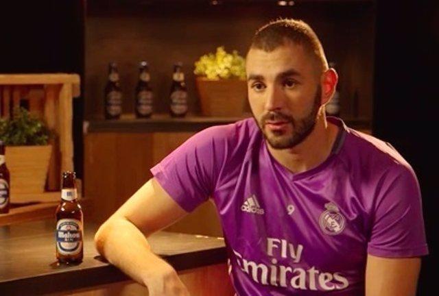 Karim Benzema, jugador del Real Madrid