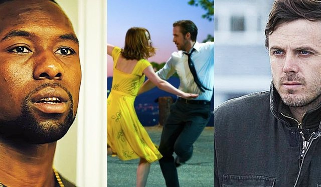 Moonlight, La La Land y Manchester frente al mar