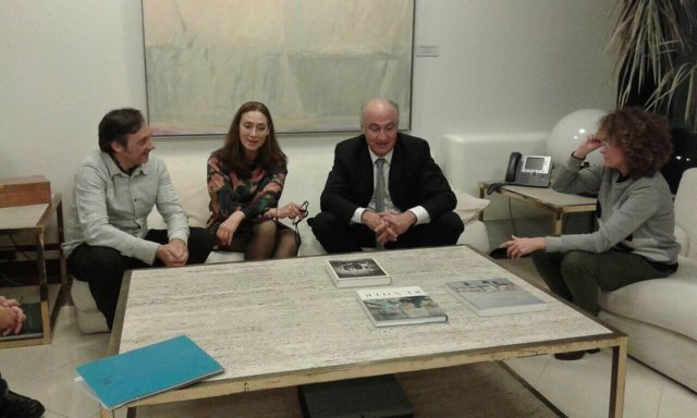 Reunión entre Benzo, Podemos y Realizadores