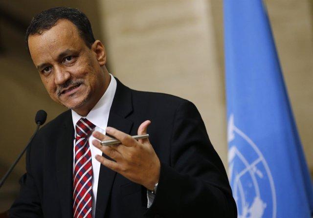 El enviado especial de la ONU a Yemen Cheikh Ahmed