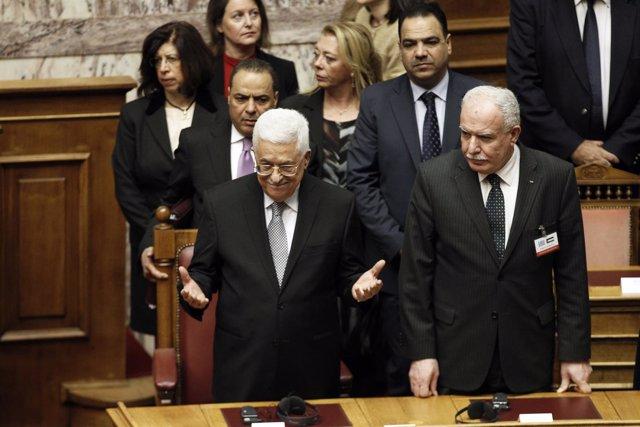 El presidente de la Autoridad Palestina, Mahmoud Abbas