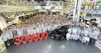 Renault Palencia alcanza el récord de 300.000 vehículos
