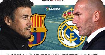 Horario y dónde ver el Barcelona – Real Madrid | Decimocuarta jornada...