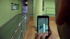 Una 'app' permitirá mejorar la orientación espacial de personas con problemas de visión (UPM)