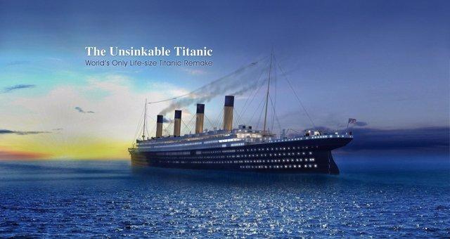 La nueva réplica china del Titanic