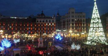 Valladolid da comienzo a la Navidad