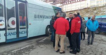 Un autobús gratuito une las estaciones de Astún y Candanchú