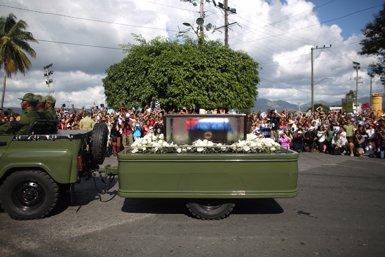 Les cendres de Fidel Castro, inhumades en un cementiri de Santiago (REUTERS/ALEXANDRE MENEGHENI)