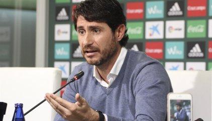 """Víctor Sánchez del Amo: """"Hemos sido infinitamente superiores al Celta"""""""