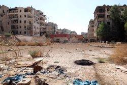 L'Exèrcit sirià ja s'ha fet amb el control de més de la meitat de l'est d'Alep (ABDALRHMAN ISMAIL/REUTERS)
