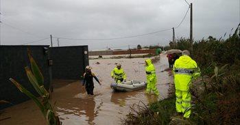 Las lluvias dejan dos fallecidos en Andalucía