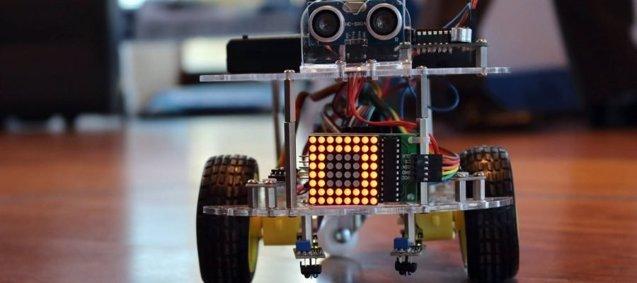 Foto: Crean un robot para enseñar a los escolares programación y electrónica (INFORTISA )