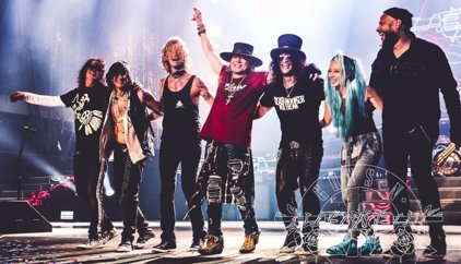 Los Guns n' Roses de Axl y Slash confirman conciertos en Bilbao y Madrid