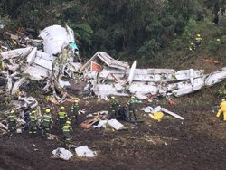 Bolívia es querellarà contra l'aerolínia LaMia i apunta un presumpte tràfic d'influències (POLICÍA DE ANTIOQUIA)