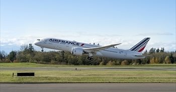 Air France recibe su primer 787-900 'Dreamliner'